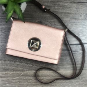 Kate Spade Blush Sally Newbury Lane Crossbody